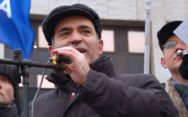 Garry Kasparov on Russia, the US, ISIS, and chess