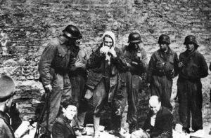 The Warsaw Ghetto Rebellion.